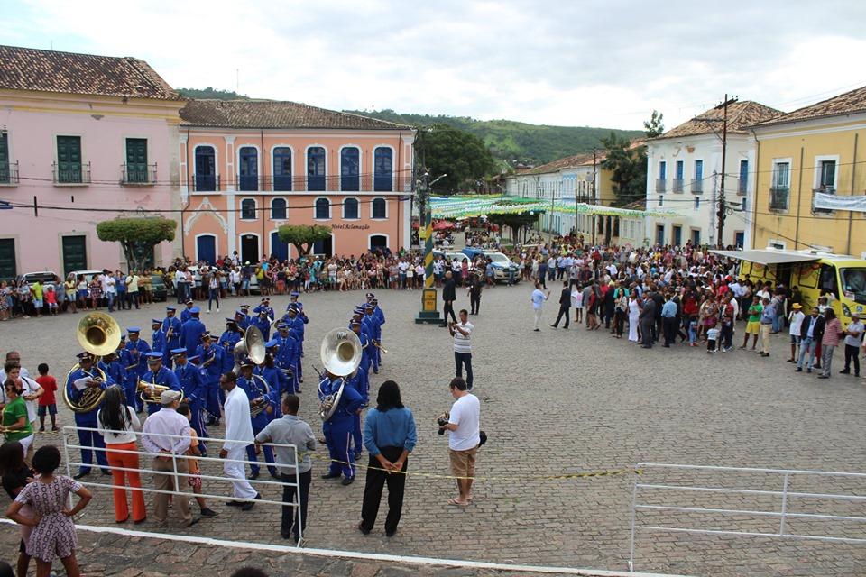 Cachoeira dá início às comemorações pela Independência