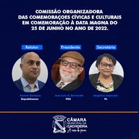 Comissão Organizadora das Comemorações do Bicentenário do 25 de junho de 1822 é criada em Cachoeira