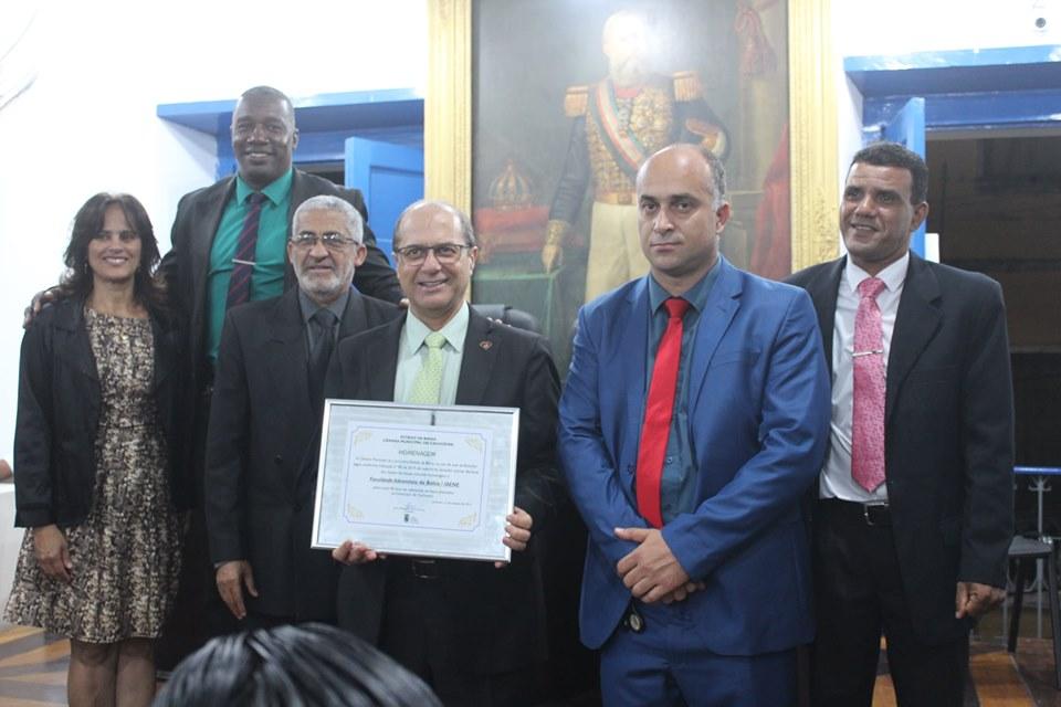 Câmara de Cachoeira realiza Sessão Especial em homenagem aos 40 anos do IAENE