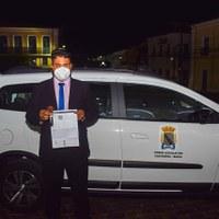 Câmara doa veículo para Prefeitura
