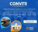 Câmara tem sessão solene pelos 184 anos de elevação de Cachoeira à categoria de cidade