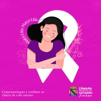 Março Lilás: Campanha de Prevenção contra o Câncer de Colo Uterino