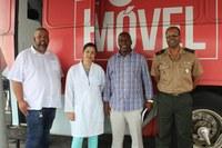 Presidente da Câmara visita HEMOBA para solicitar apoio para realizar campanha de doação em Cachoeira