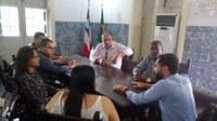Vereadores de Cachoeira buscam cobram celeridade na reforma da Estação Ferroviária